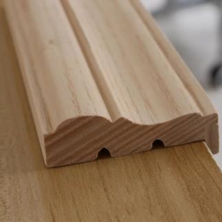 整木定制:如何挑选到真正的实木装饰线条
