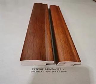 仿实木涂桨字画线条